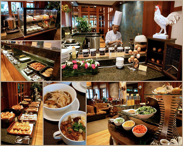 Breakfast buffet at The Terrace