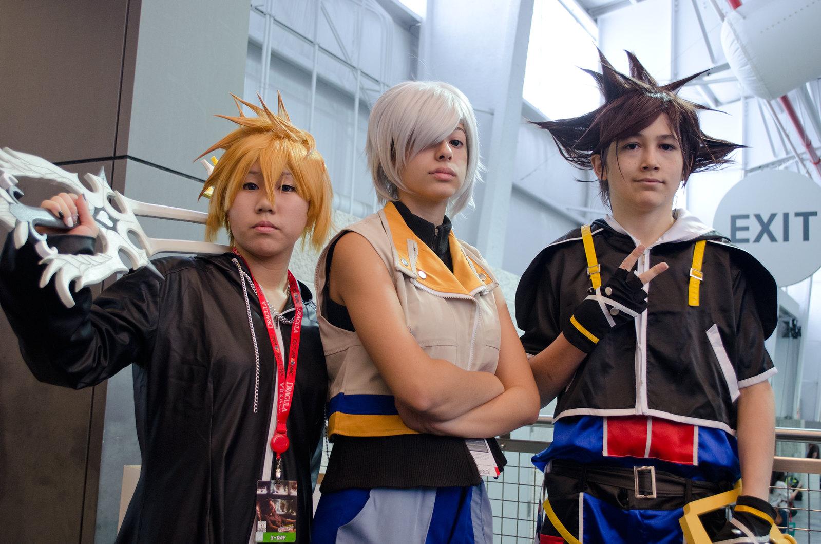 NYCC Kingdom Hearts Cosplay