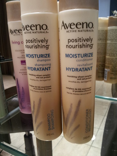Aveeno Active Naturals - Positively Nourishing MOISTURIZE Shampoo and Conditioner
