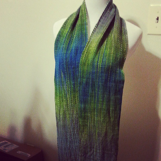 Pooling scarf #weaving #schacht @jillmakesstuff #jilldraper