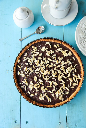 Plum Chocolate Tart