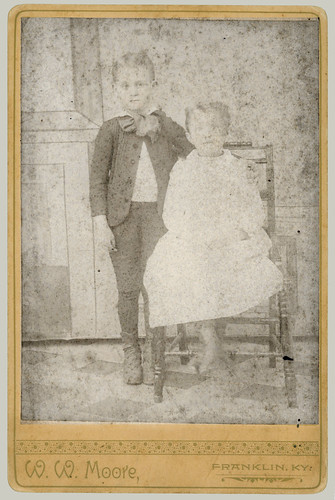 Cabinet Card two boys