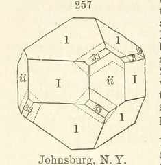 """British Library digitised image from page 330 of """"A System of Mineralogy. Descriptive Mineralogy ... By J. D. Dana ... aided by George Jarvis Brush ... Fifth edition. Rewritten and enlarged, etc"""""""