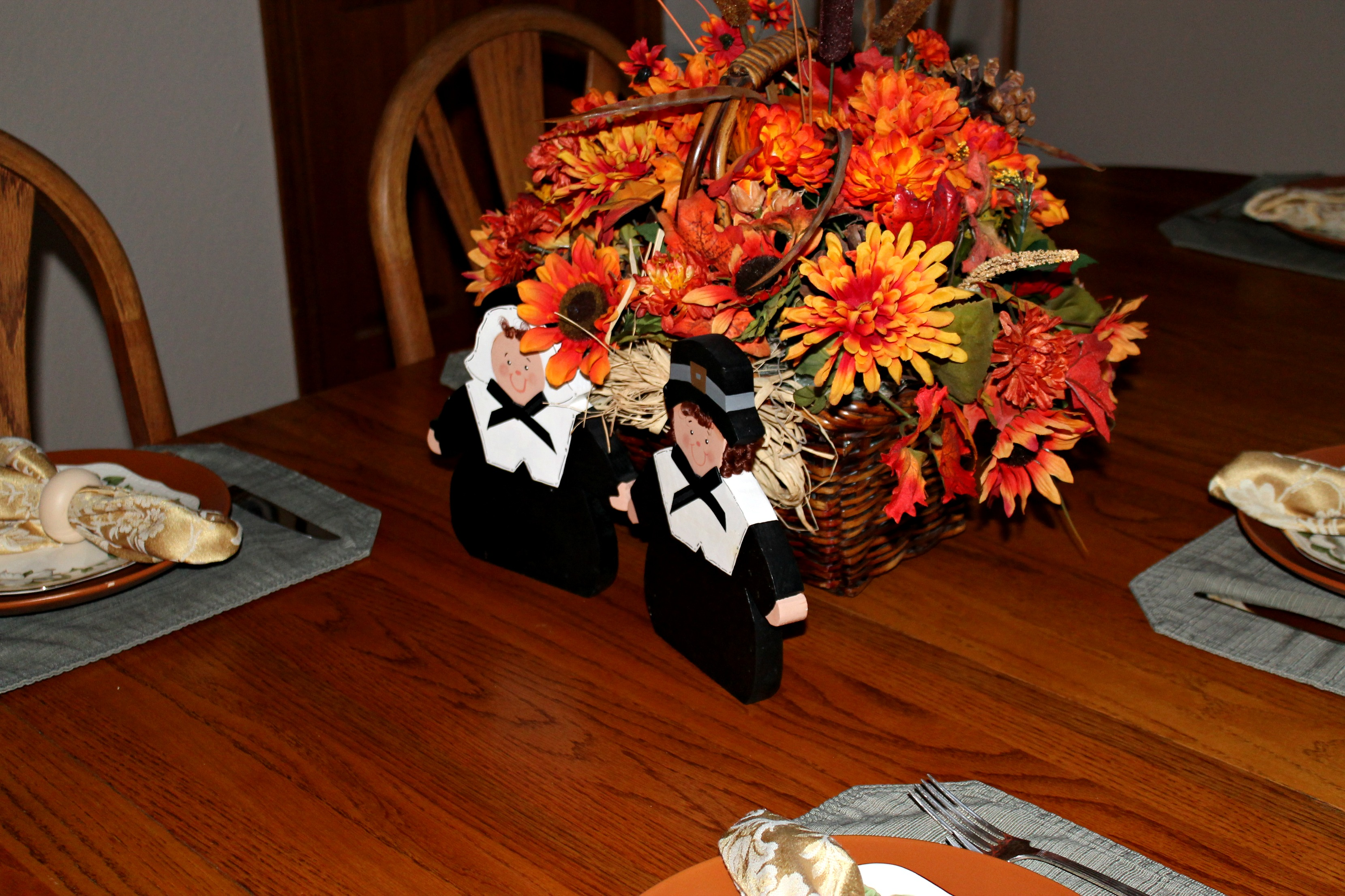 Thanksgiving 2013 - Table Setting