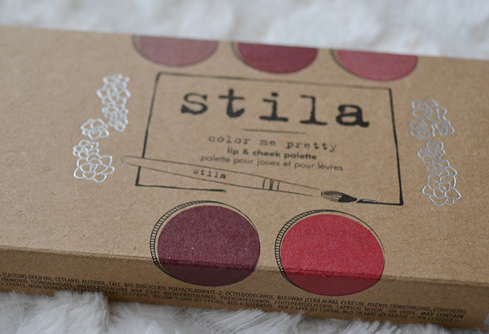 Stila Color me Pretty lip and cheek palette 2