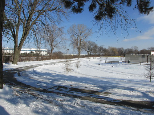 Wintertime at West Park.  Des Plaines Illinois.  December 2013. by Eddie from Chicago