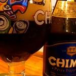 ベルギービール大好き!!シメイ・ブルーChimay Bleue @五平次