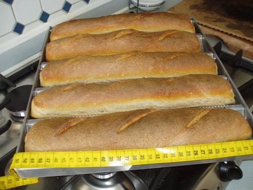 Baguette Au Levain – Bread Alone 001