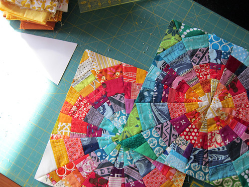 two mini quilts