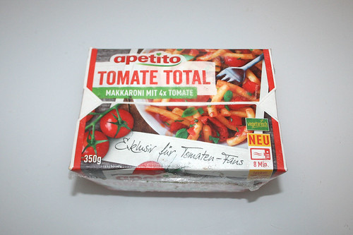 01 - Apetito Tomate Total - Verpackung vorne / Wrapping front