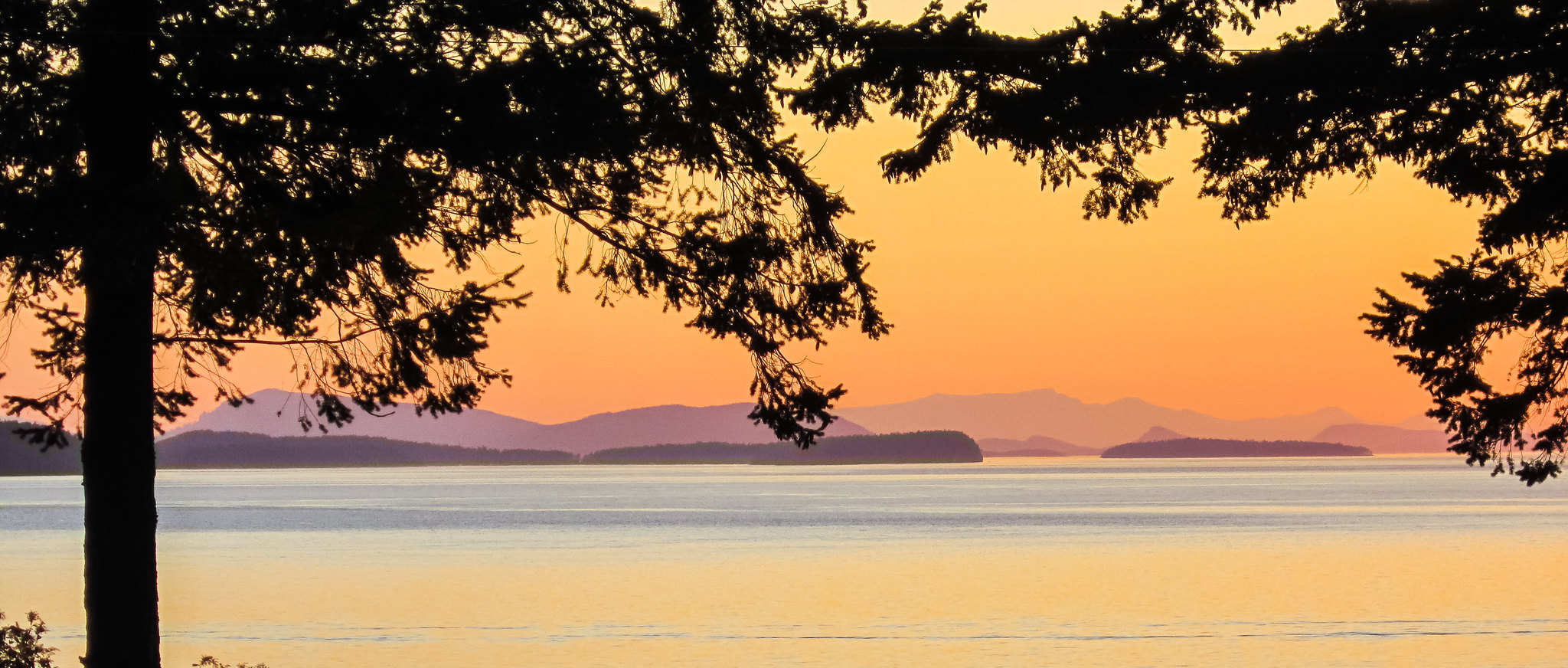 Dusk on Lummi Island by Ed Suominen, on Flickr