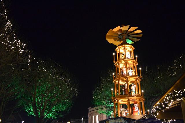 Mainz Weihnachtsmarkt pyramid