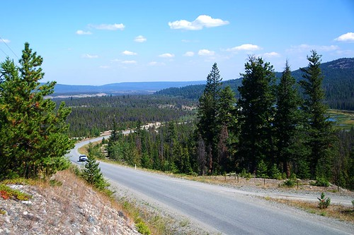 Highway 20 west of Redstone, Chilcotin, BC