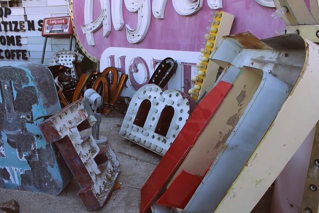 Neon Museum #runawaytovegas