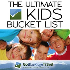 GoBRT's Kids Bucket List for the Shenandoah Valley...