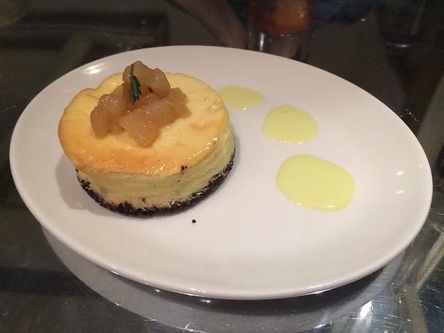 Mascarpone cheesecake - Ad Hoc