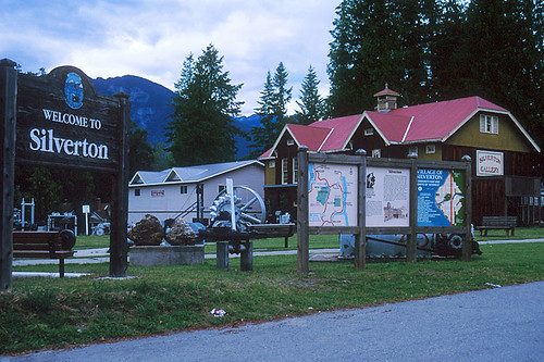 Silverton, Slocan Lake, Slocan Valley, Kootenay Rockies, British Columbia, Canada