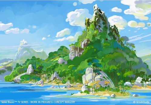 Sonic Boom TV Concept Art