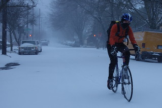 Snow Biking