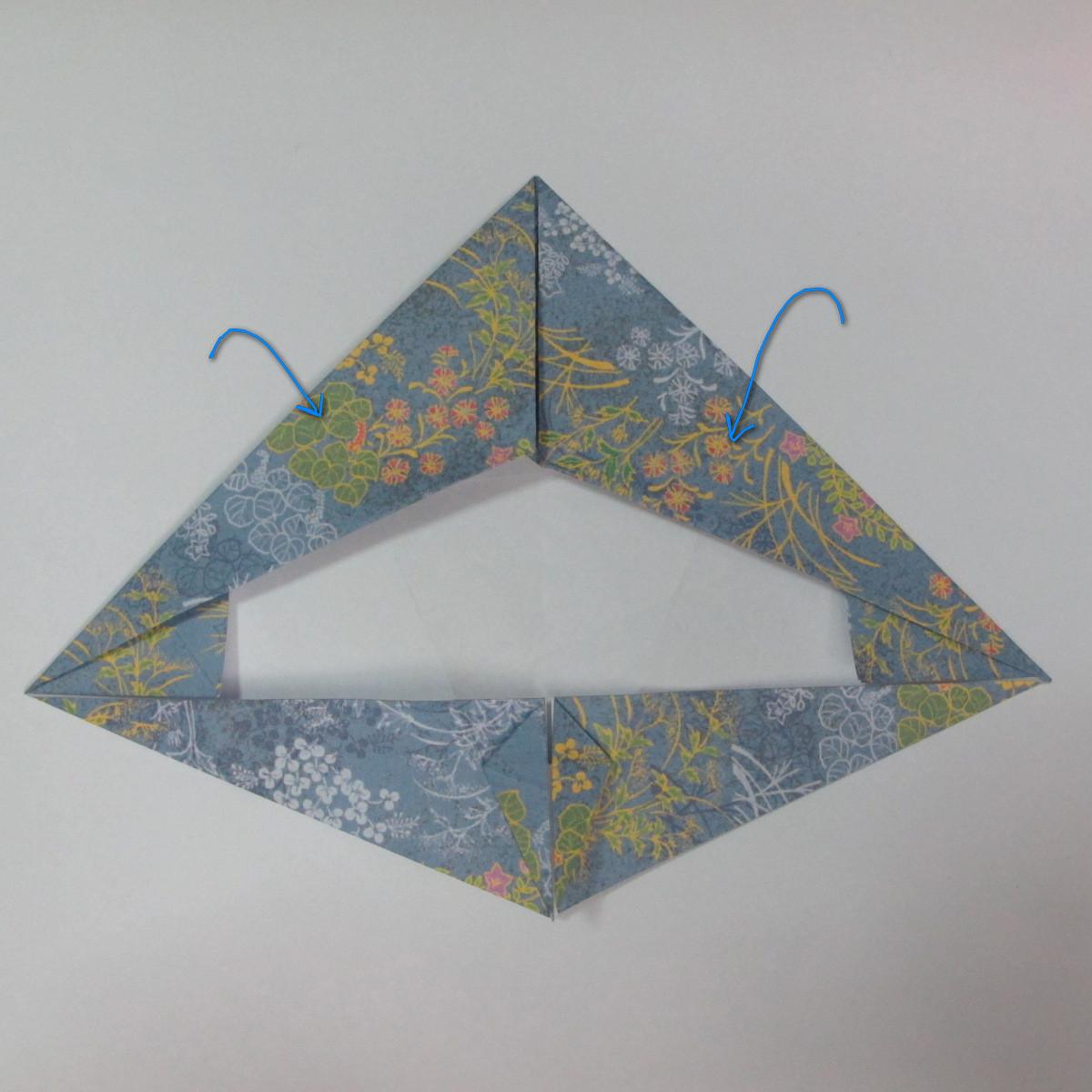 วิธีการพับกระดาษเป็นรูปม้า (Origami Horse) 029
