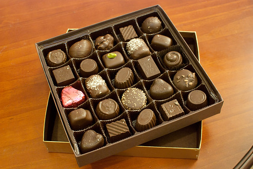 Valentine's Day vegan chocolates
