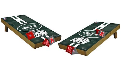 New York Jets Premium Cornhole Boards