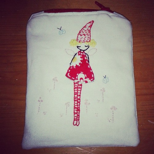 One little pouch all done! I even had time to make pizza dough for tea :-)