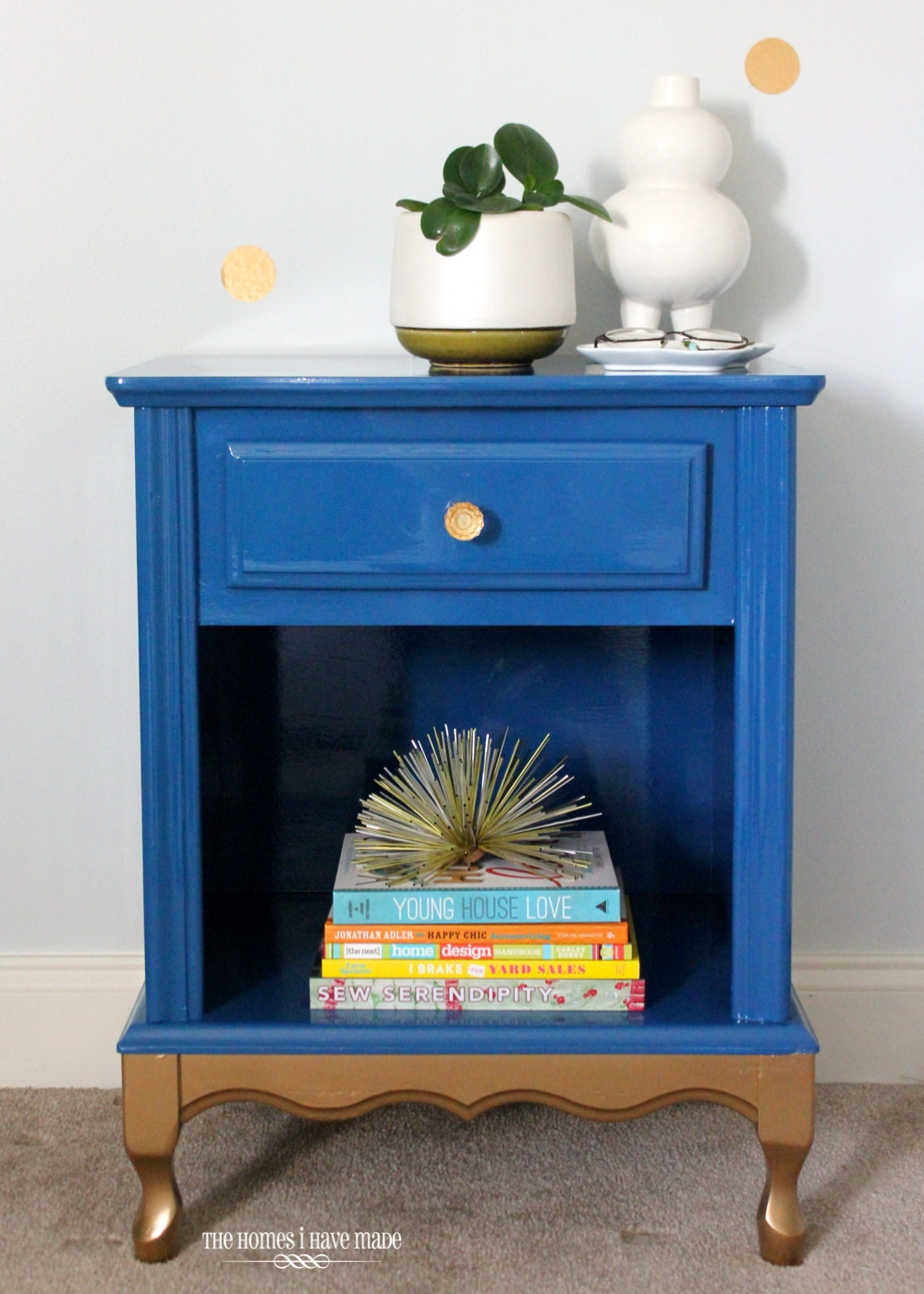 Blue and Gold Nightstand-011