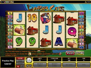 Lumber Cats Slot Machine