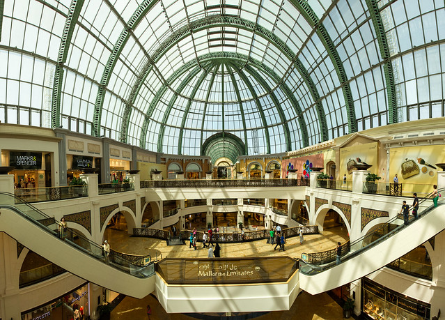 Photo:World's First Shopping Resort | Dubai, UAE By w4nd3rl0st (InspiredinDesMoines)