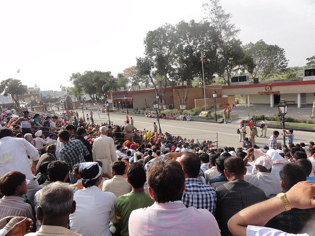 Just after reaching the Wagah Border