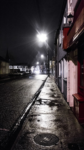 street ireland night canon eos tralee 60d