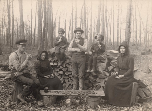 Dinner at the Sugar Bush 1907