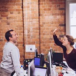 Around the Envato Office - Highfive!