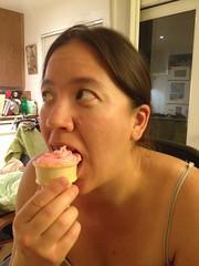 Cupcakes in cones!