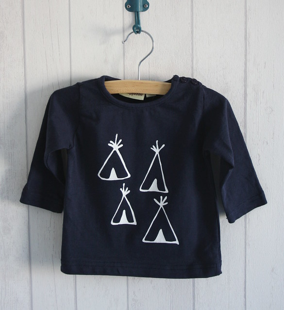 DIY tipi shirt