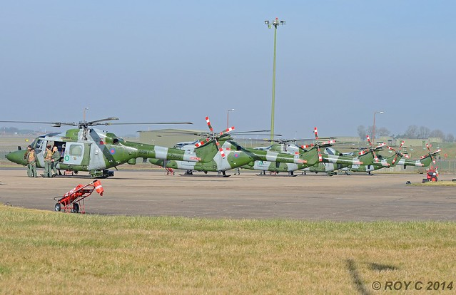 ARMY LYNX HELICOPTERS