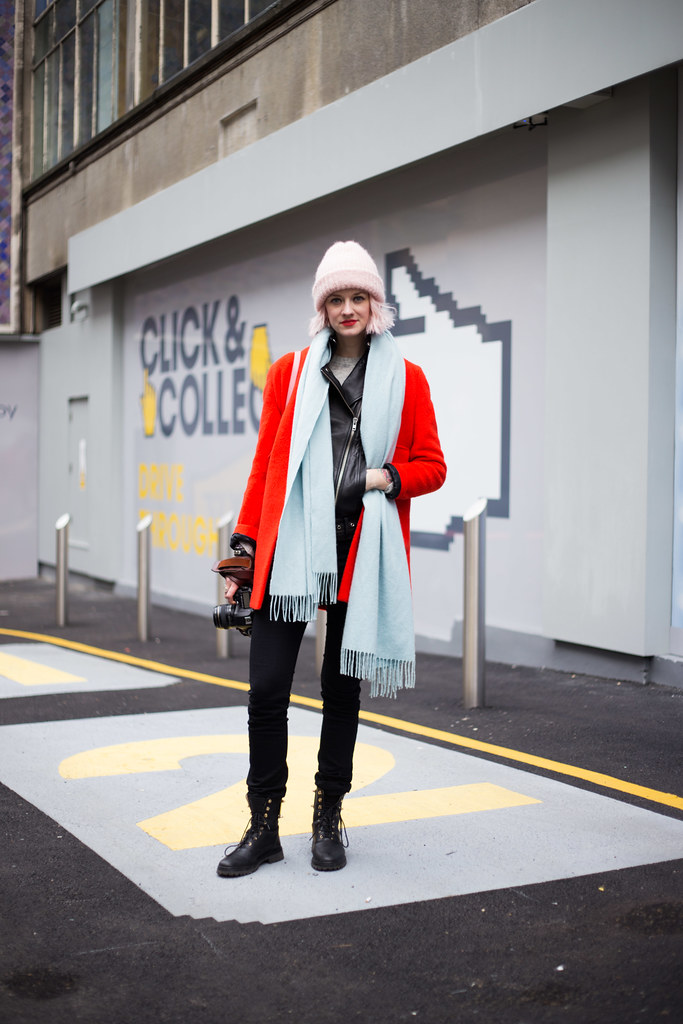 Street Style - Marianne Theodorsen, London Fashion Week