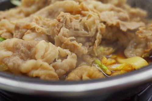 吉野家の「牛すき鍋膳」