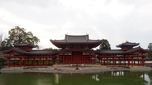 Byodo-in Hoo-do (The Phoenix Hall of Byodo-in temple ), 平等院鳳凰堂