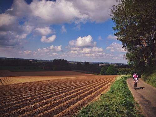 Lovely day for the 'Verada Follens Classic' cyclo. Had fun despite having bad legs