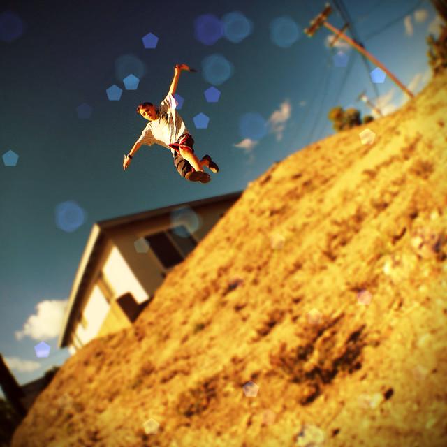 Boyce Jumping iDarkroom Demo