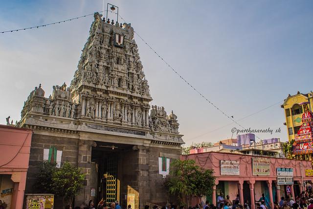 Parthasarathy temple, Triplicane