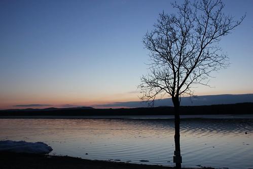 sunset greatsacandagalake