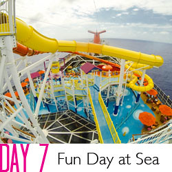 2014 Carnival Breeze Day 7 - Fun Day at Sea