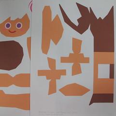วิธีทำโมเดลกระดาษตุ้กตา คุกกี้สาวผู้ร่าเริง จากเกมส์คุกกี้รัน (LINE Cookie Run – Bright Cookie Papercraft Model) 001