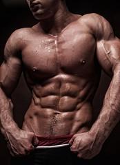 Músculo con torso fuerte