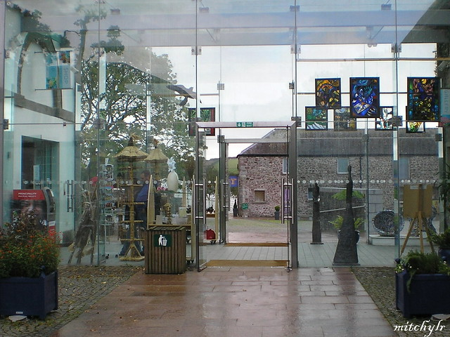 Glass Gallery Entrance