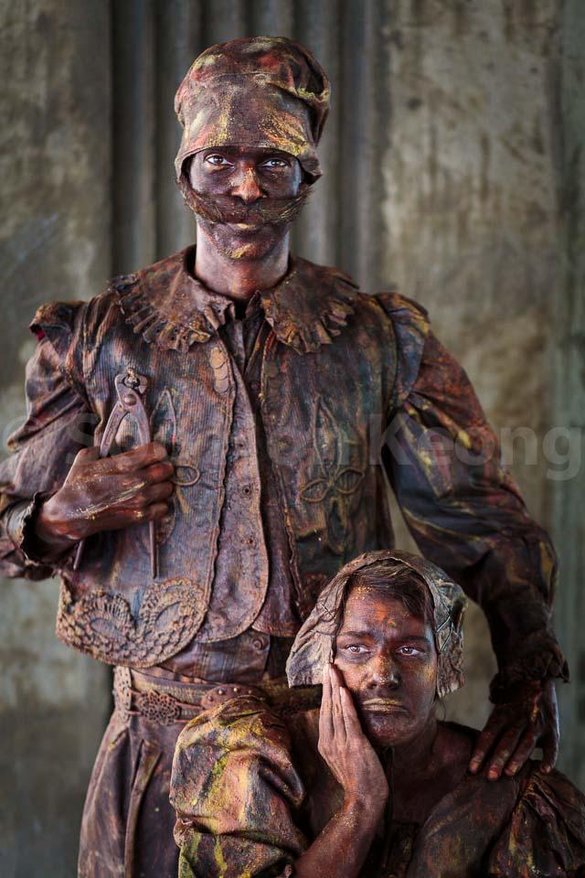 Quacker - Living Statue @ Bangkok, Thailand