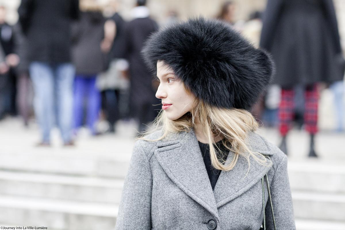 Chanel Haute Couture, Paris, Street style